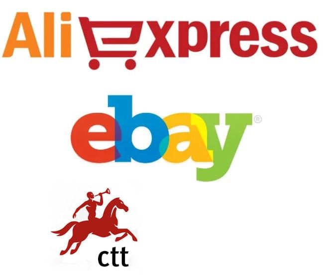CUIDADO com ebay, Aliexpress e CTT !