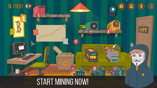 Idle Miner Simulator – Tap Tap Bitcoin Tycoon Apk Free on Android Game Download