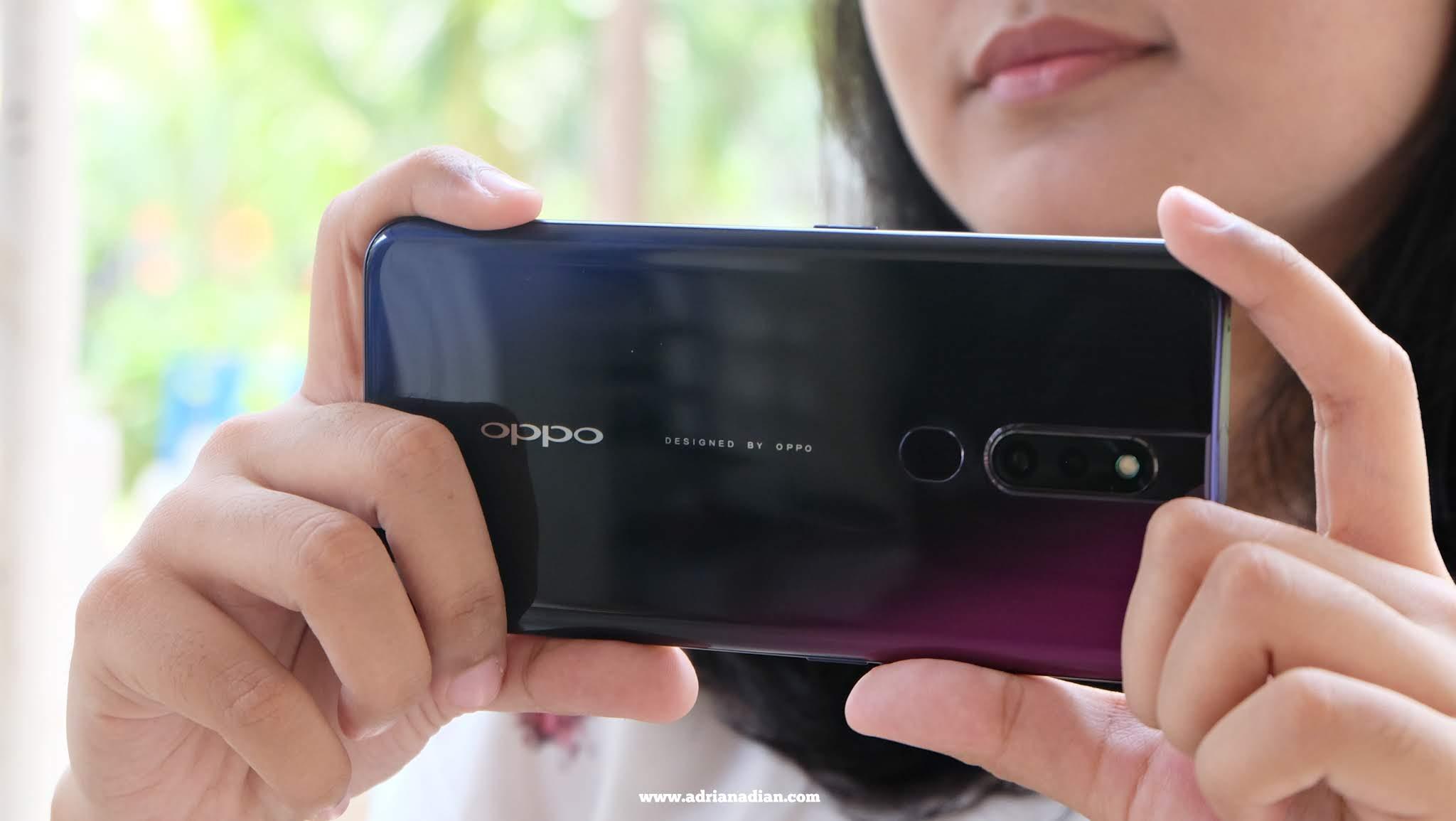 Body smartphone Oppo F11 Pro