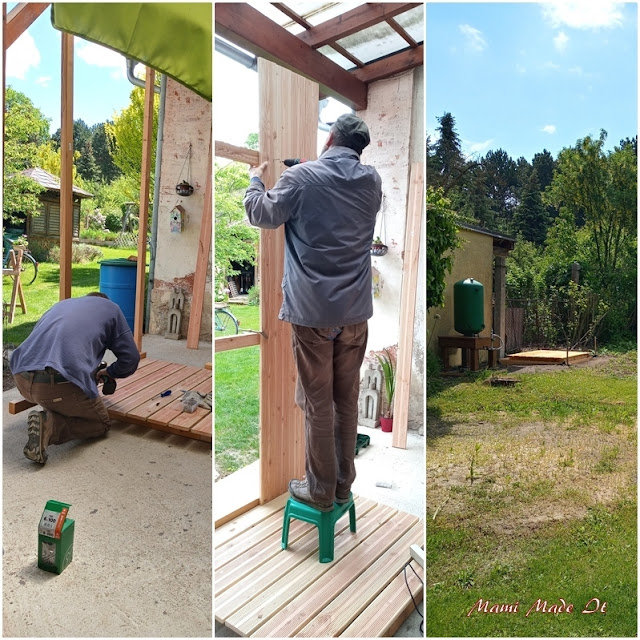 Zusammenbau der Gartendusche - Assembling of the garden shower
