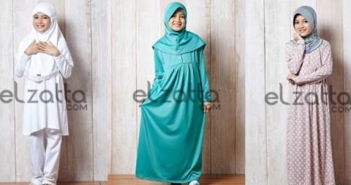Contoh Baju Muslim Anak Elzatta terbaru