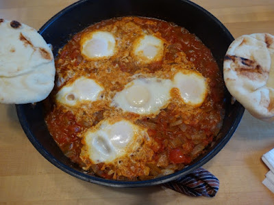 Shakshuka (Healthy Vegetarian Dish) by Stacey Kuhns
