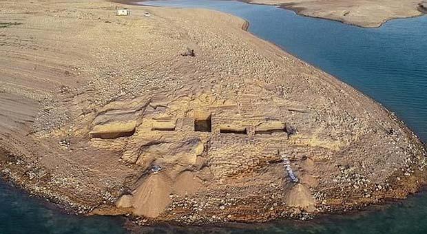 Sungai Tigris Surut, Istana 3.400 Tahun Muncul ke Permukaan