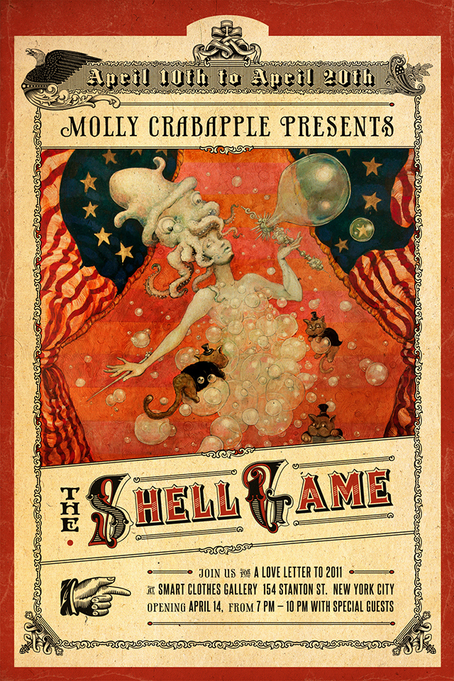 Molly Crabapple. The Shell Game