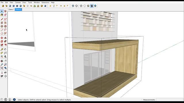 تحميل برنامج SketchUp Make 2020 للرسم ثلاثي الابعاد والهندسي