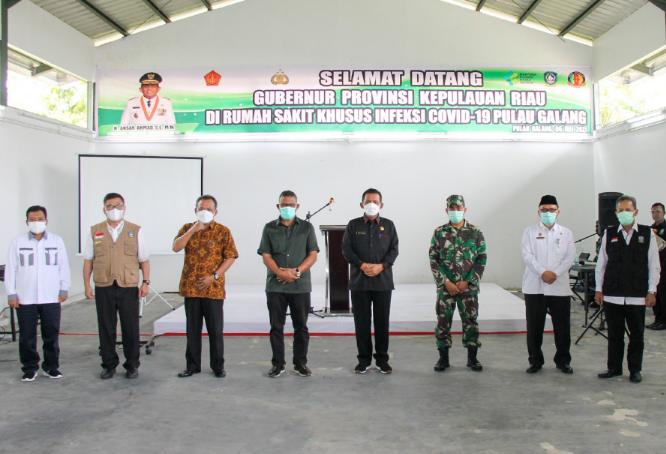 Gubernur Kepri Berkunjung Ke RSKI Galang, Berikut Harapannya