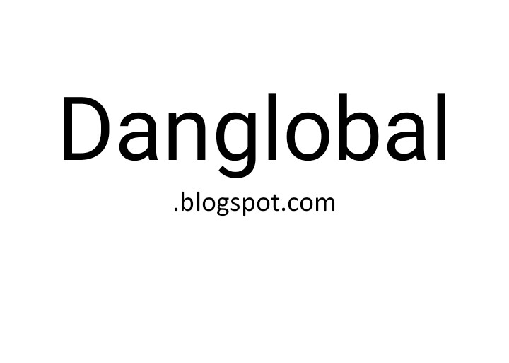 Welcome to Daniel Olawale blog - Danglobalz