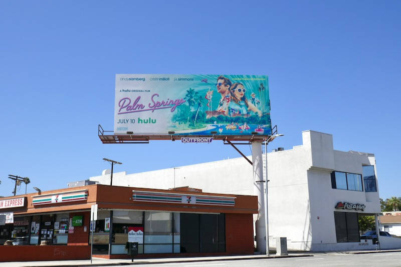 Palm Springs film billboard