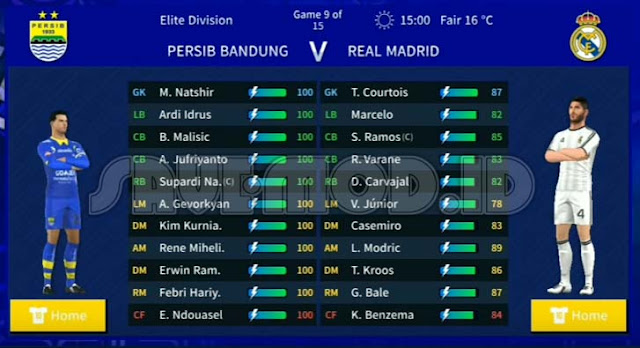 Dream League Soccer 2019 MOD APK Persib DLS DATA + OBB