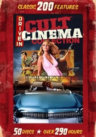 Enter the Drive-In Cult Classics 200 Movie DVD Giveaway. Ends 2/9.