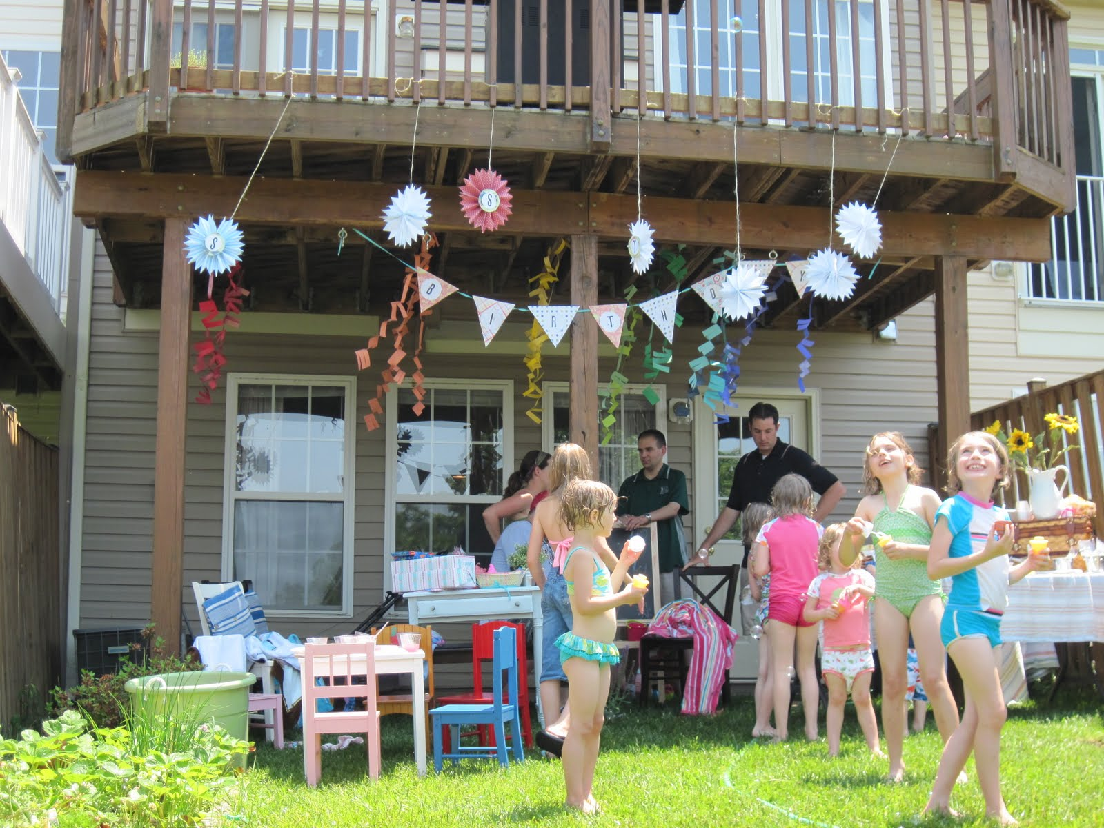 Laverty Family: A Backyard Birthday Party
