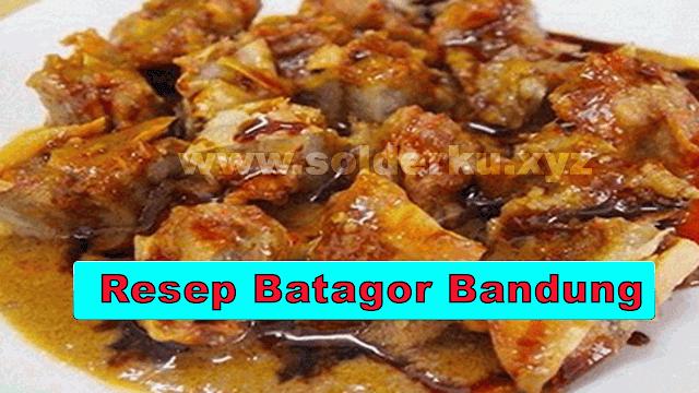 Resep Batagor Bandung
