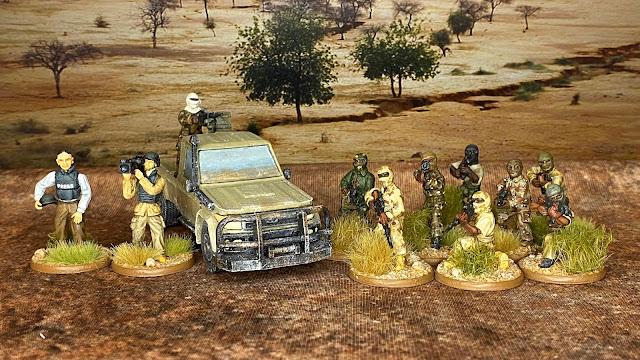 28mm African Islamic terrorist insurgent miniatures