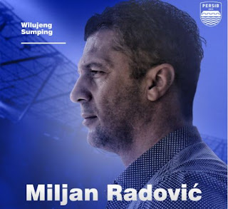 Persib Resmi Perkenalkan Miljan Radovic sebagai Pelatih