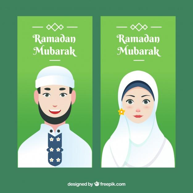 Koleksi 420  Gambar Animasi Orang Muslimah HD Paling Keren