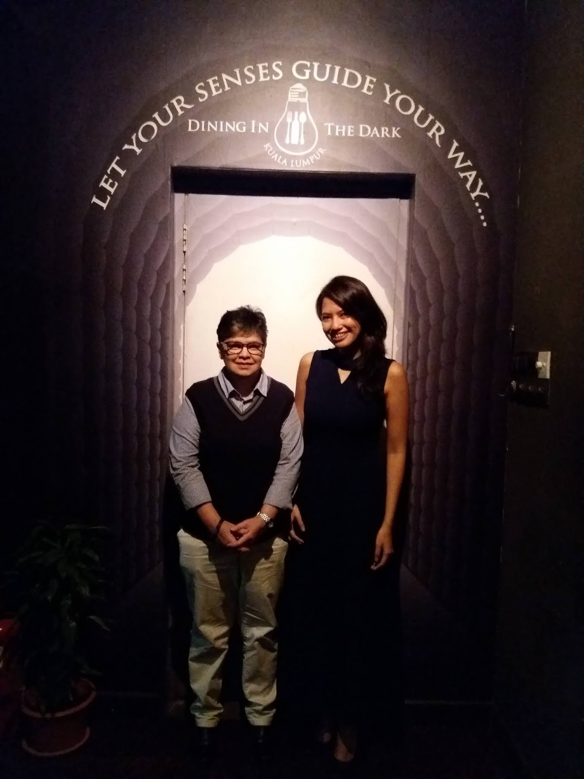 Dining in the Dark Kuala Lumpur review | Ummi Goes Where?