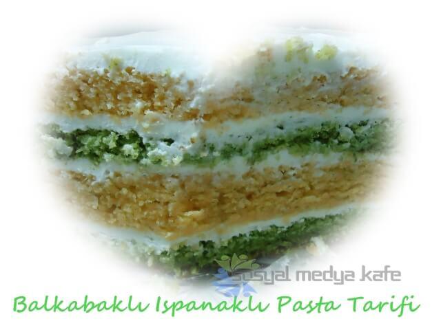 Balkabaklı Ispanaklı Pasta Tarifi