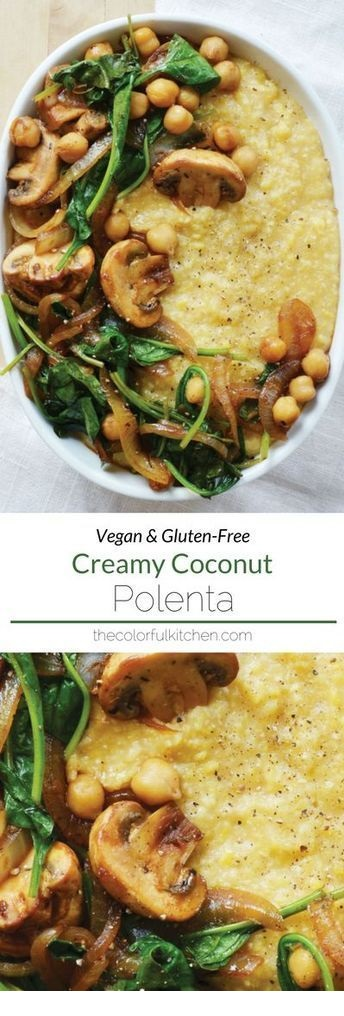 Creamy Coconut Polenta from The Colorful Kitchen
