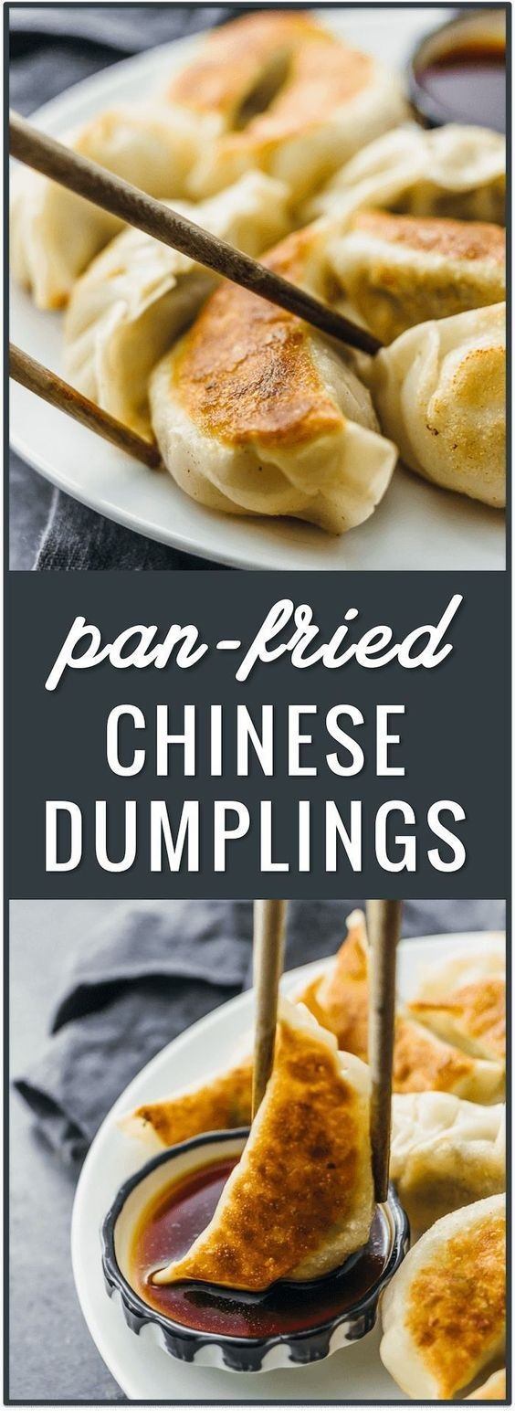 BEEF RECIPES | Pan Fried Chinese Dumplings Recipe