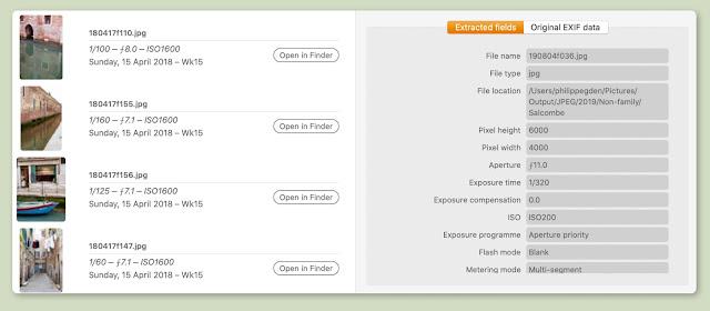 【攝影器材】EXIF 工具軟體 PhotoStatistica,透過數據來分析你的拍攝習慣 - 單獨查驗圖檔的 EXIF 也很方便