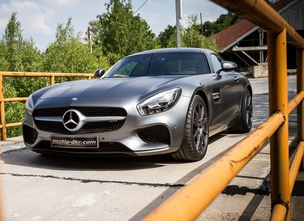 Mercedes AMG GT S by mcchip-dkr