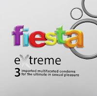 Fiesta Kondom Extreme - 3 Pcs - Kondom Bergerigi