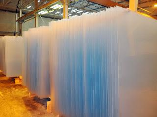 Hőszigetelő matt üveg gyártása