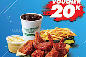 Promo Wingstop Voucher 20K Dari DANA