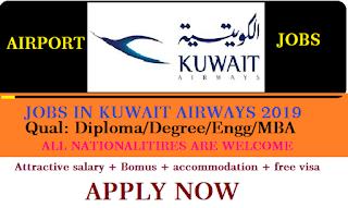 Kuwait airways career jobs in Kuwait, Kuwait airways jobs,  jobs in Kuwait city