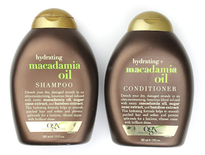 OBX Hydrating Macadamia Oil Shampoo & Conditioner review