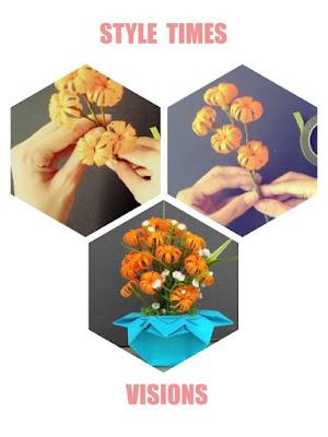 cara membuat bunga dari sedotan yang mudah dan simpel