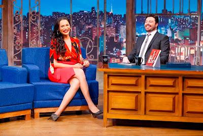 Luisa brinda com Danilo (Crédito: Gabriel Cardoso/SBT)