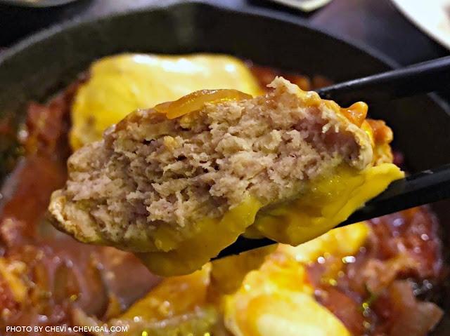 IMG 2556 - 台中南屯│Noline食堂。山盛炸雞丼份量多到小心山崩,還有讓人香到哭的斐濟風漢堡排飯(已遷址)