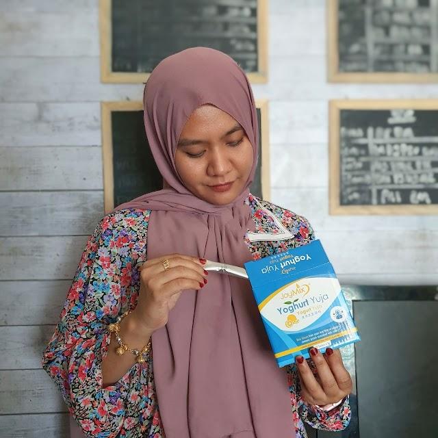 Increase Immunity with JoyMix Yoghurt Yuja.
