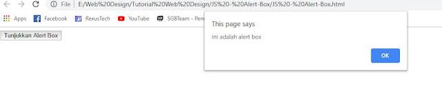 Cara Membuat Alert Box Menggunakan Javascript