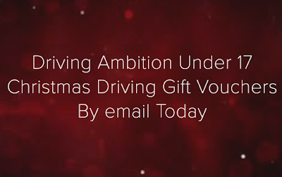 DRIVING AMBITION - CHRISTMAS UNDER 17 OFF ROAD DRIVING GIFT VOUCHERS