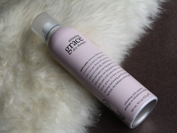 Review philosophy amazing grace dry shampoo