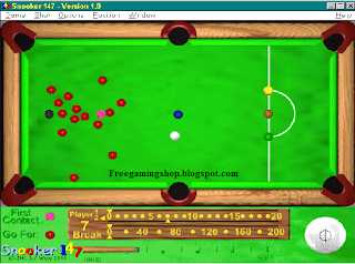 Snooker 147 free download pc game full version world new best.