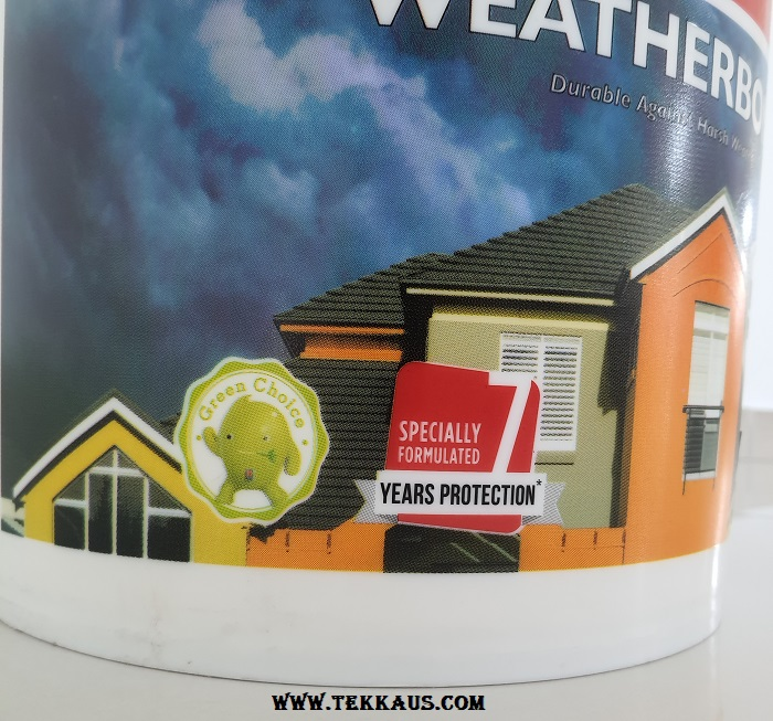 Nippon Paint Weatherbond For Exterior Last for how many years 7 years