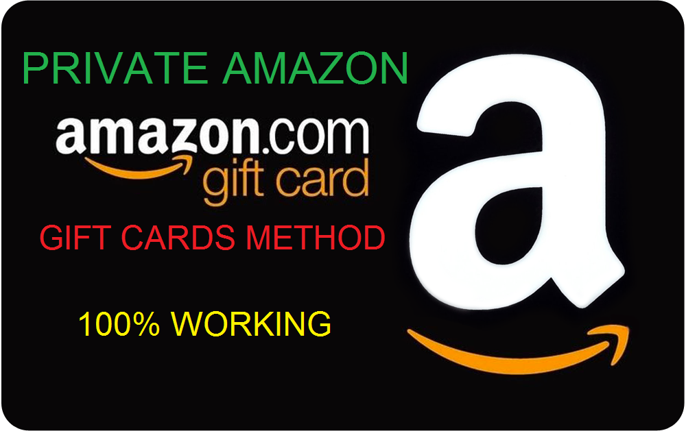 PRIVATE AMAZON GIFT CARD METHOD 100% WORKING 2018 - DMZ Networks