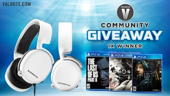 Enter To Win a Steelseries Arctis 3 Headset + Game of choice ( Worth Over : +$177)