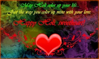 Romantic Holi Wishes 2018