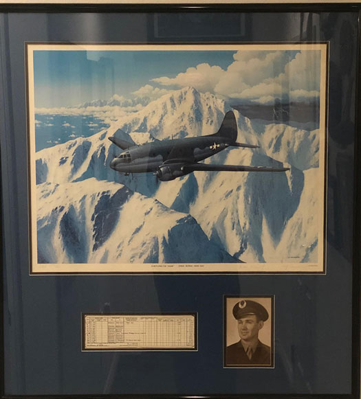 Thinking of my dad flying the hump in WWII (Source: Palmia Observaory)