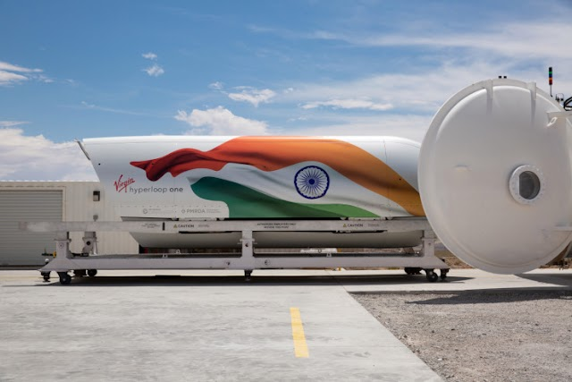 India positions Hyperloop super high-speed rail as a public infrastructure project