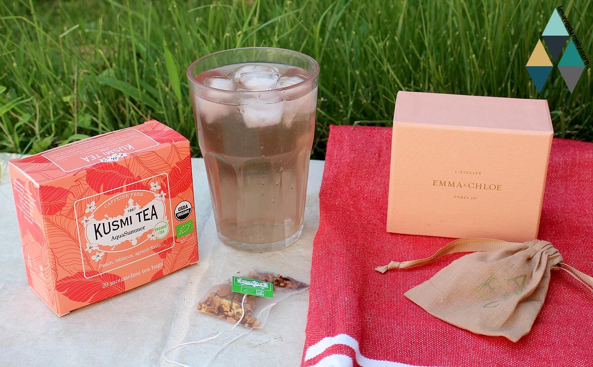 avis concours box bijou emma et chloé kusmi tea