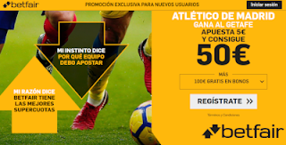 betfair supercuota Atletico gana a Getafe 18 agosto 2019