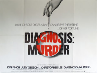 Diagnosis - Murder Poster