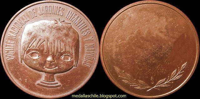 Medalla Comite de Jardines Infantiles