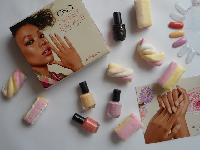 CND Sweet Escape Collection - Swatches Top to Bottom: Soulmate, Exquisite, Coquette, another view