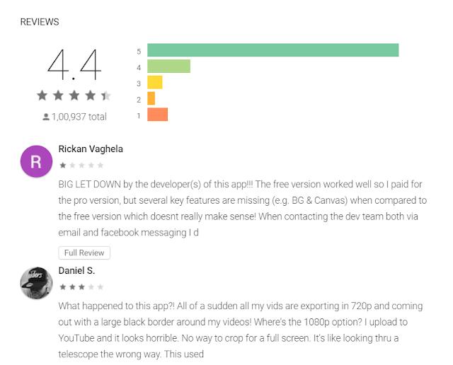 Download VivaVideo Pro Rating